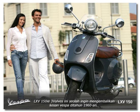 Vespa LXV 150ie 3Valves