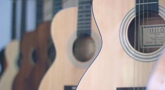 gitar merk secco