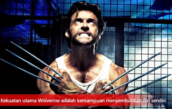 menjadi sekuat wolverine