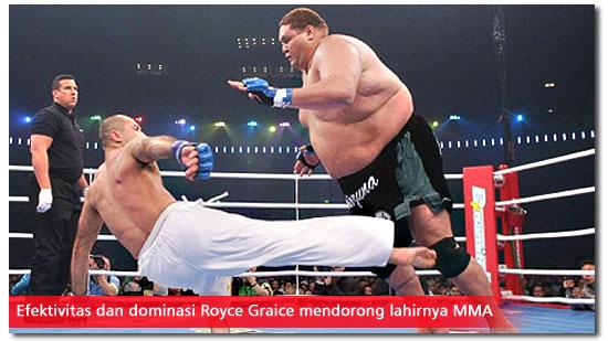 Pertandingan Royce Gracie