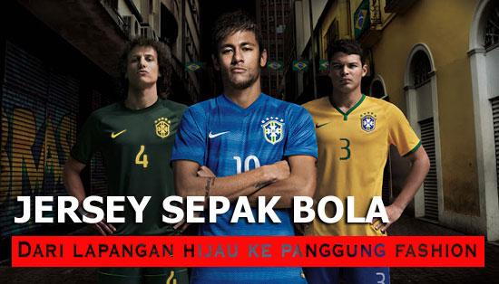 fashion jersey sepakbola