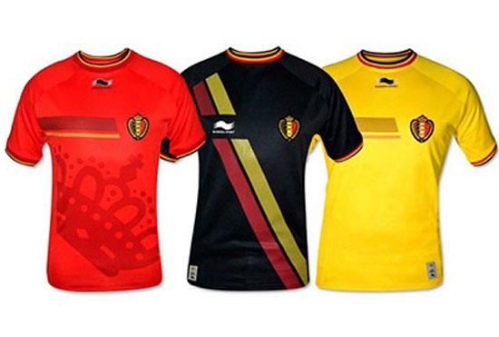 jersey tim belgia