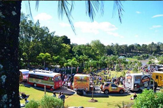 food truck downey park
