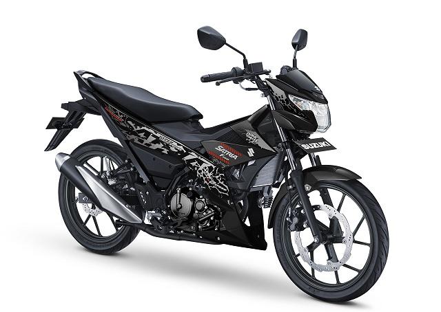 Keperkasaan motor Suzuki Satria series tak perlu dipertanyakan lagi Mesin DOHC Membuat Suzuki Satria Semakin Menawan di Kelasnya