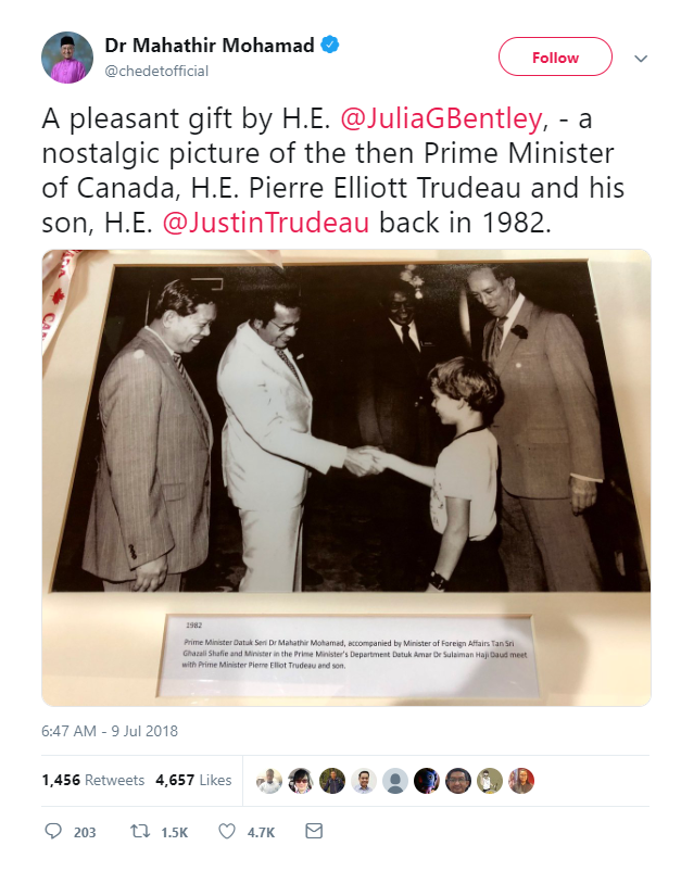 mungkin ini juga yang dirasakan Perdana Menteri Malaysia 36 Tahun Berlalu Nostalgia Dari Anak Perdana Menteri Sampai Menjadi Pemimpin Negeri