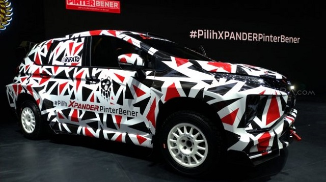 pastilah kendaraan beroda empat MPV yang menempel dengan  Ketika Xpander Disulap Menjadi Mobil Balap Bertenaga